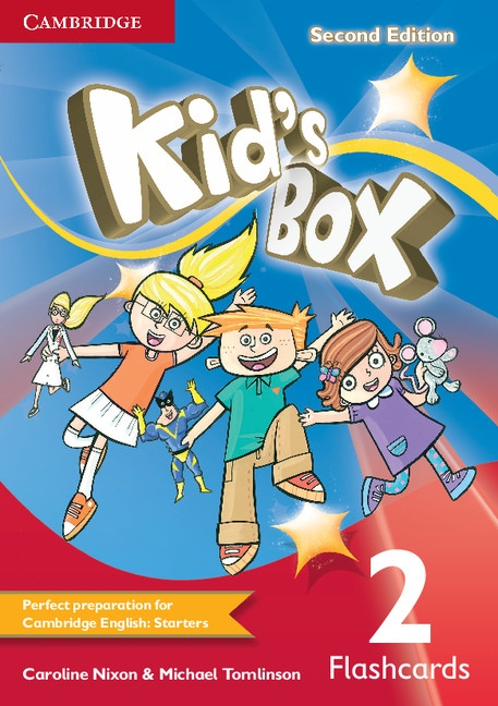 Kid´s Box 2 2nd Edition Flashcards (pack of 103)
