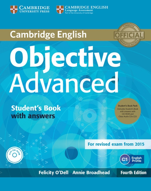 Objective Advanced (4th Edition) Student´s Book Pack (Student´s Book with Answers, CD-ROM & Class Audio CDs (3))