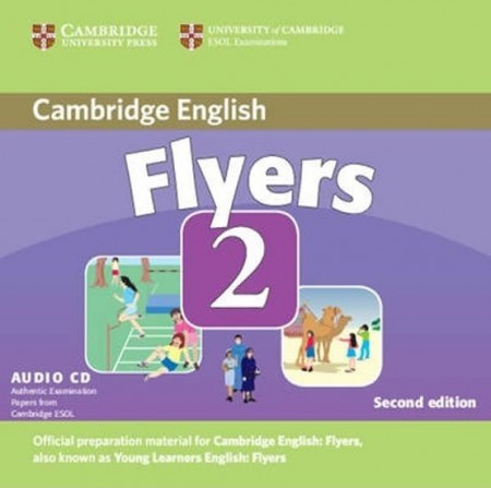 Cambridge Young Learners English Tests, 2nd Ed. Flyers 2 Audio CD : 9780521693592