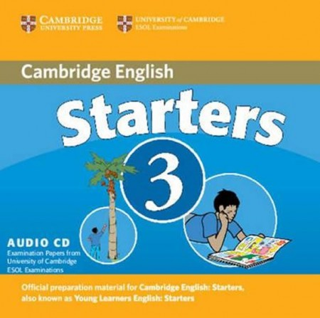 Cambridge Young Learners English Tests, 2nd Ed. Starters 3 Audio CD