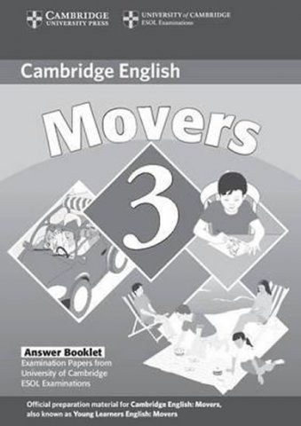 Cambridge Young Learners English Tests, 2nd Ed.  Movers 3 Answer Booklet