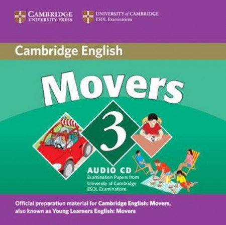 Cambridge Young Learners English Tests, 2nd Ed. Movers 3 Audio CD