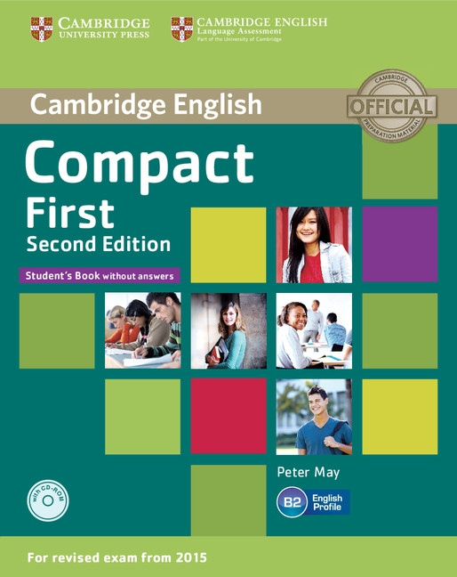 Compact First (2nd Edition) Student´s Book without Answers with CD-ROM