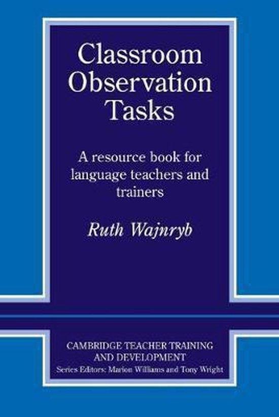 Classroom Observation Tasks PB
