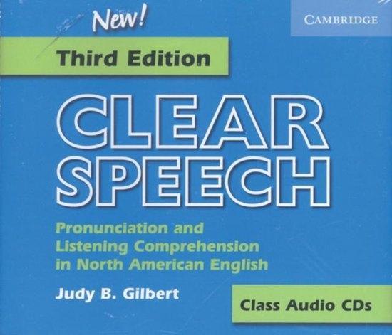 Clear Speech. 3rd Ed. Audio CDs (3)