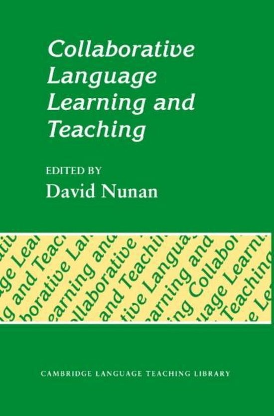Collaborative Language Learning and Teaching : 9780521427012