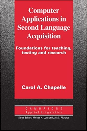 Computer Applications in Second Language Acquisition PB : 9780521626460