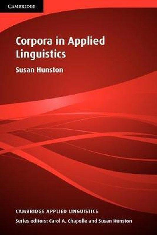 Corpora in Applied Linguistics PB : 9780521805834
