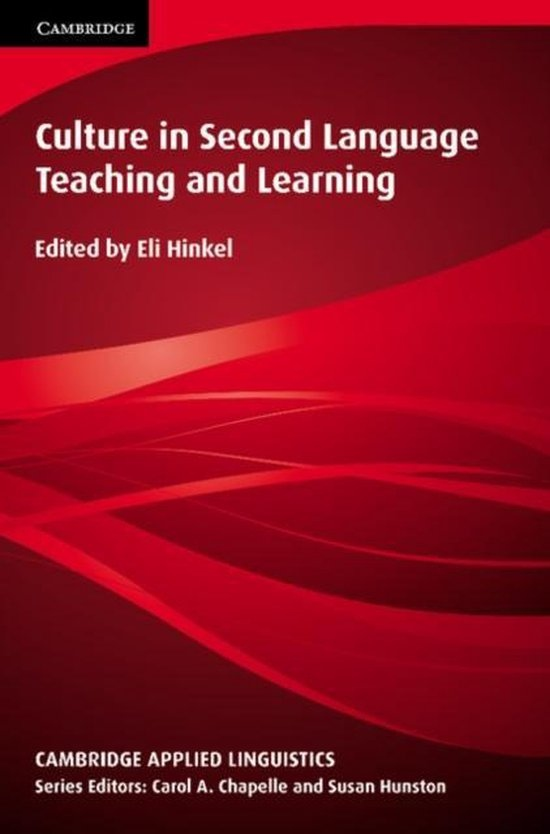 Culture in Second Language Teaching and Learning PB : 9780521644907