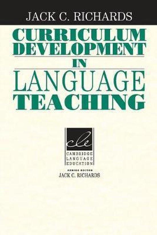 Curriculum Development in Language Teaching PB : 9780521804912