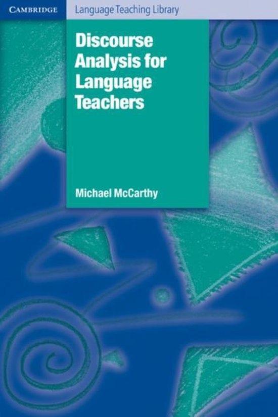 Discourse Analysis for Language Teaching