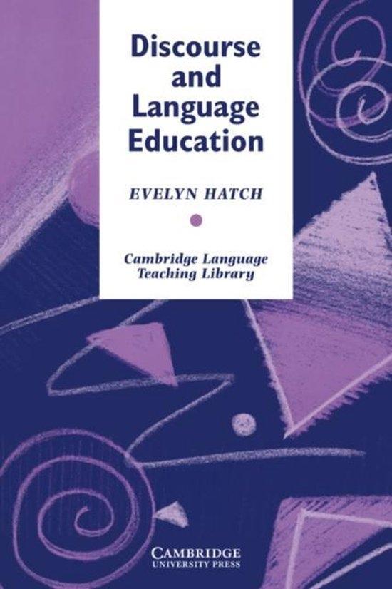Discourse and Language Education PB : 9780521426053