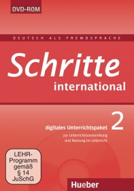 Schritte international 2 Digitales Unterrichtspaket DVD-ROM