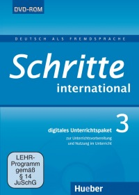Schritte international 3 Digitales Unterrichtspaket DVD-ROM