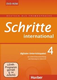 Schritte international 4 Digitales Unterrichtspaket DVD-ROM