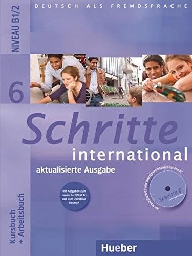Schritte international 6, Neubearbeitung. Kursbuch + Arbeitsbuch mit Audio-CD