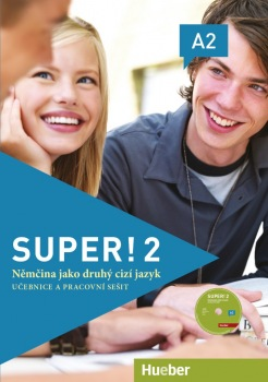 Super! 2 Kursbuch + Arbeitsbuch mit CD zum Arbeitsbuch CZ