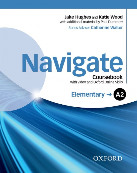 Navigate Elementary A2 Student´s Book with DVD-ROM & Online Skills