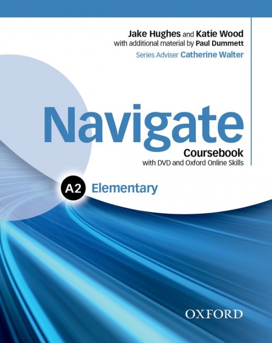 Navigate Elementary A2 Student´s Book with DVD-ROM, eBook & Online Skills