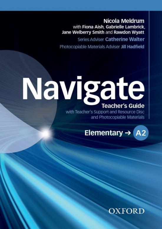 Navigate Elementary A2 Teachers Book with Teachers Resource Disc