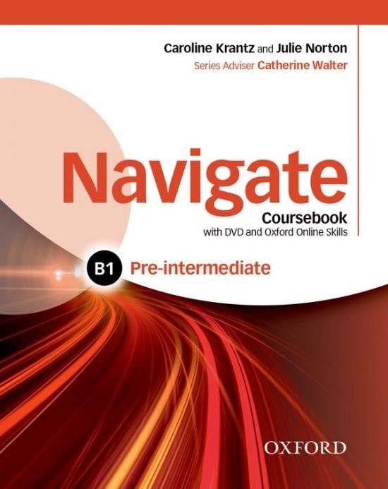 Navigate Pre-Intermediate B1 Coursebook with DVD-ROM, eBook, eWorkbook & Online Skills
