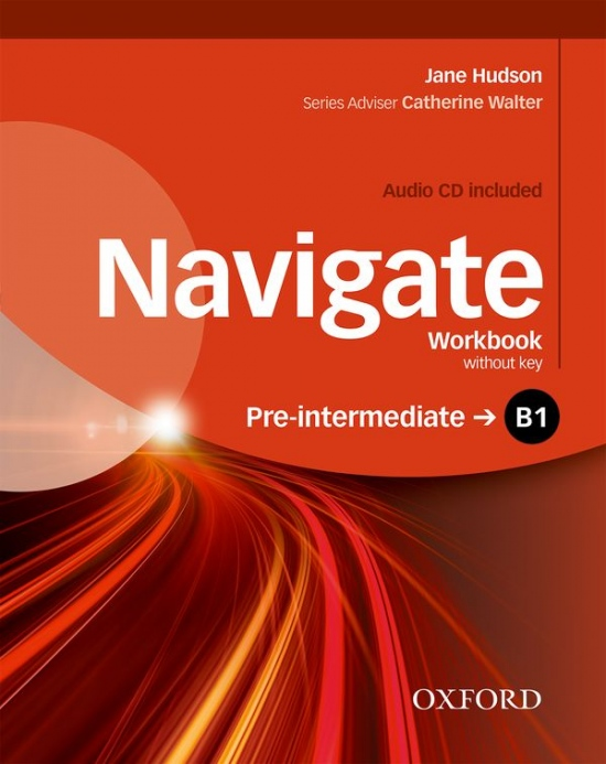 Navigate Pre-Intermediate B1 Workbook without Key with Audio CD
