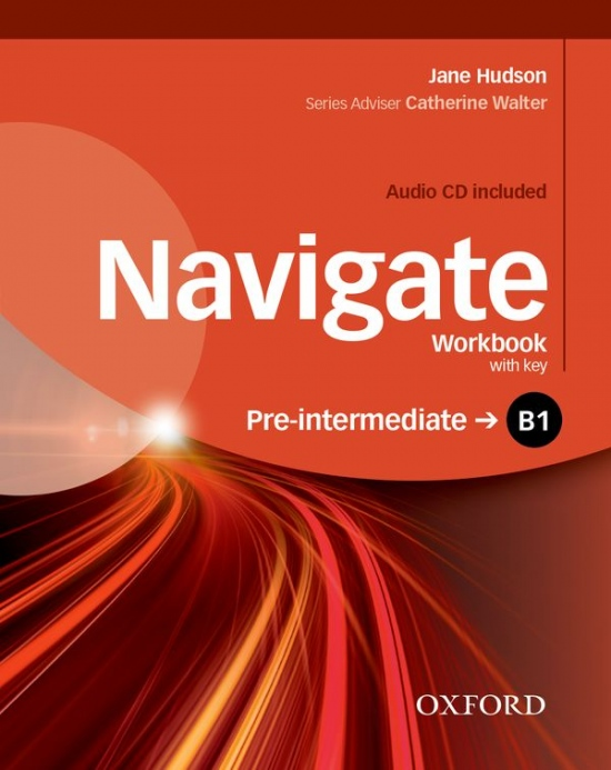 Navigate Pre-Intermediate B1 Workbook with Key & Audio CD : 9780194566537