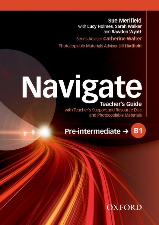 Navigate Pre-Intermediate B1 Teachers Book with Teachers Resource Disc