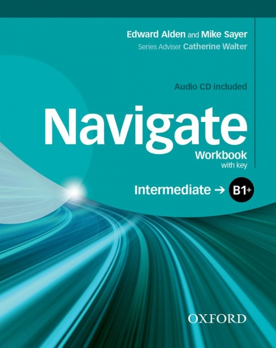 Navigate Intermediate B1+ Workbook with Key & Audio CD