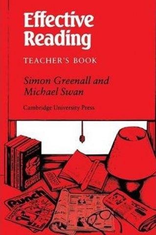 Effective Reading Teacher´s Book : 9780521317603