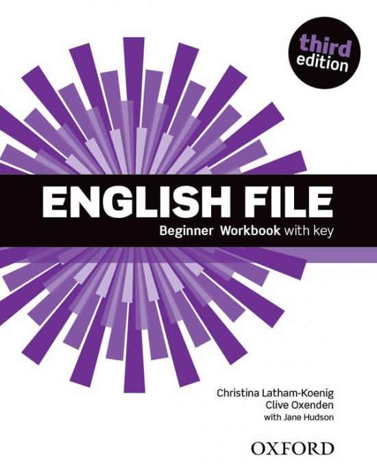 English File Beginner (3rd Edition) Workbook with Answer Booklet