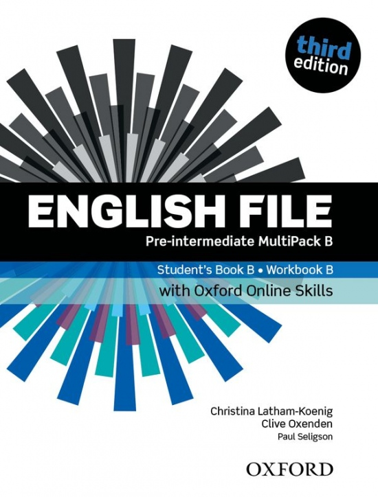 English File Pre-Intermediate (3rd Edition) MultiPACK B with Online Skills