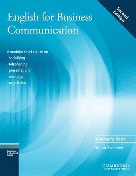 English for Business Communication Teacher´s Book