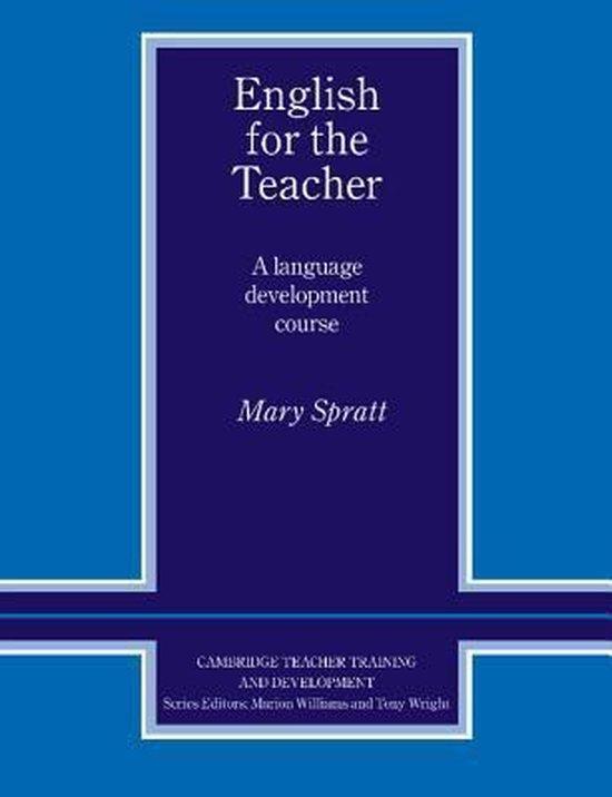 English for the Teacher Book