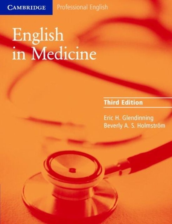 English in Medicine Third Edition Student´s Book