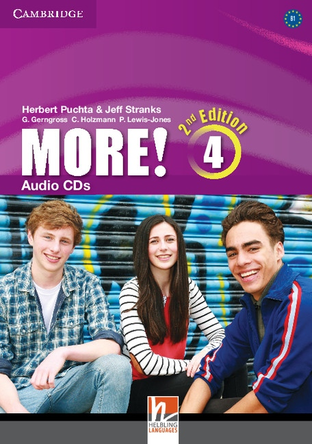 More! 4 2nd Edition Audio CDs (3)