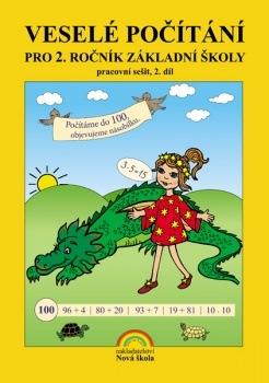 Veselé počítání 2. díl – pracovní sešit k učebnici Matematika 2 - Zdena Rosecká (2-08)