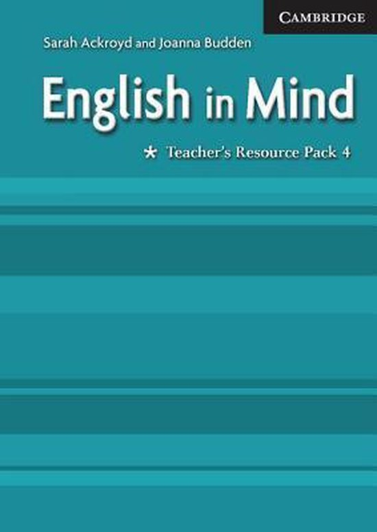 English in Mind Level 4 Teacher´s Resource Pack : 9780521682718