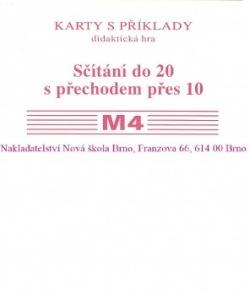 Sada kartiček M4 - sčítání do 20 s přechodem přes 10 - Mgr. Zdena Rosecká (2-15)