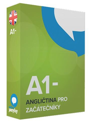 Angličtina pro ZAČÁTEČNÍKY A1- online