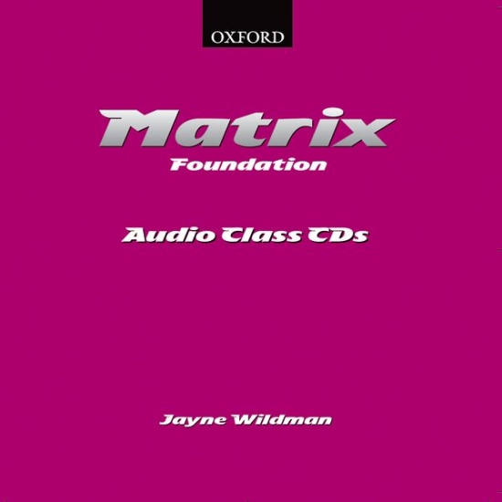 Matrix Foundation class CD (2)