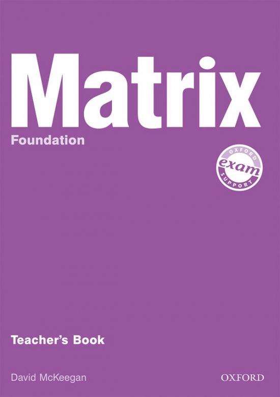 Matrix Foundation Teacher´s Book