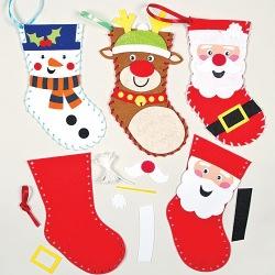 Šitíčko vánoční punčochy (3 ks)