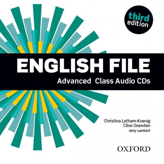 English File (3rd Edition) Advanced Class Audio CDs (5) : 9780194502528