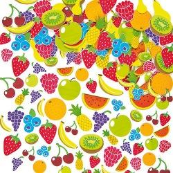 Pěnové samolepky ovoce (120ks)