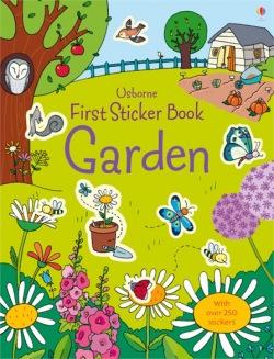First sticker book: Garden