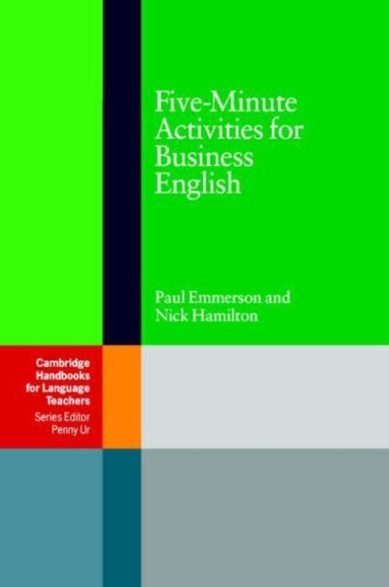 Five-Minute Activities for Business English PB