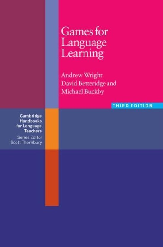 Games for Language Learning. Third Edition Paperback