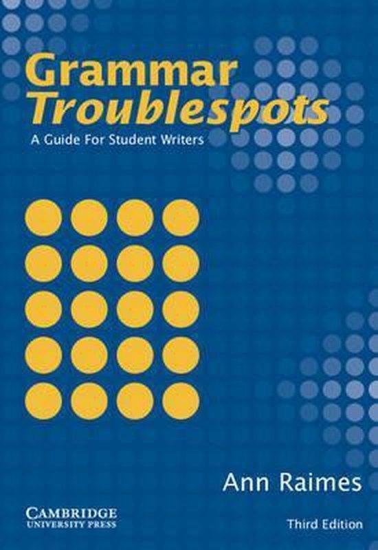 Grammar Troublespots Student´s Book : 9780521532860