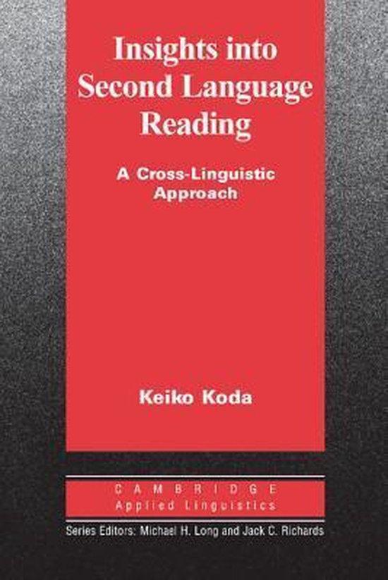 Insights into Second Language Reading PB : 9780521545136